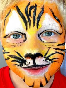 kindergrimme tijger